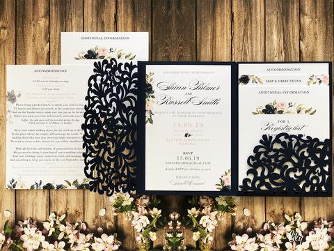 Shian Printed Invitation Suite