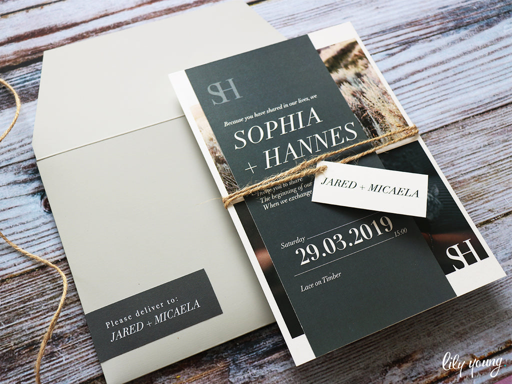 Sophia Printed Invitation Suite