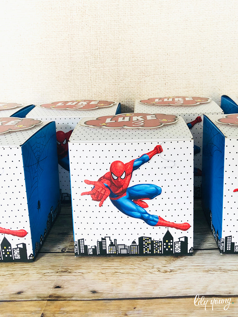 Spider-Man Box - Pack of 12
