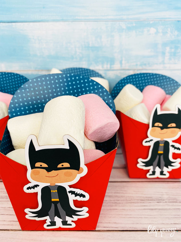 Superhero Boy Snack Bowls - Pack of 12