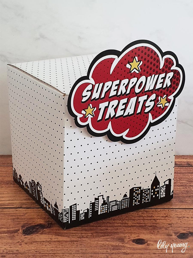 Superhero Boxes - Pack of 12