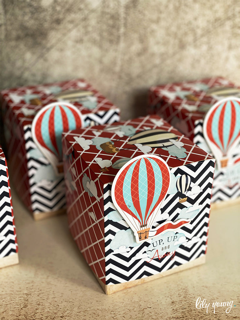 Medium Up & Away Boy Boxes - Pack of 12