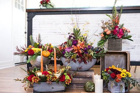 thanksgiving arrangement, florist near me 60634 same day