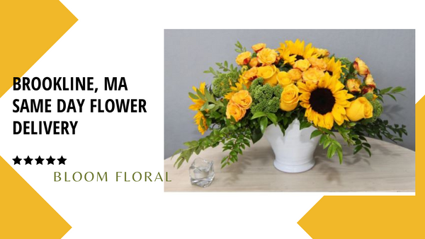 best same day flower delivery in Brookline, MA