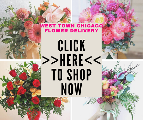 West Town Chicago IL Flower Delivery Bloom Floral