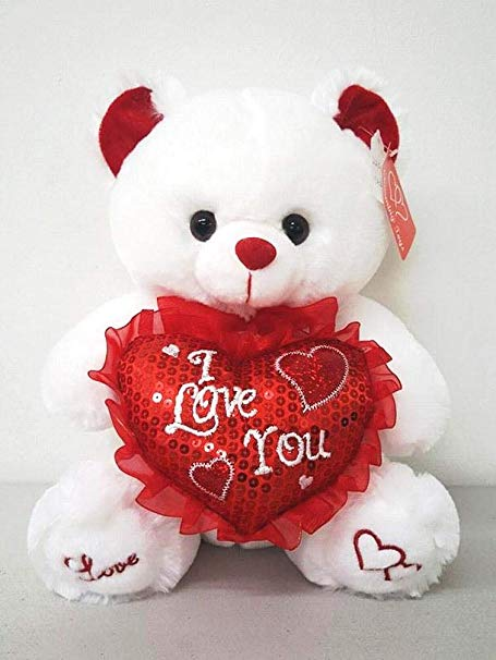 Plush Bear I Love You - www.bloomfloralshop.com