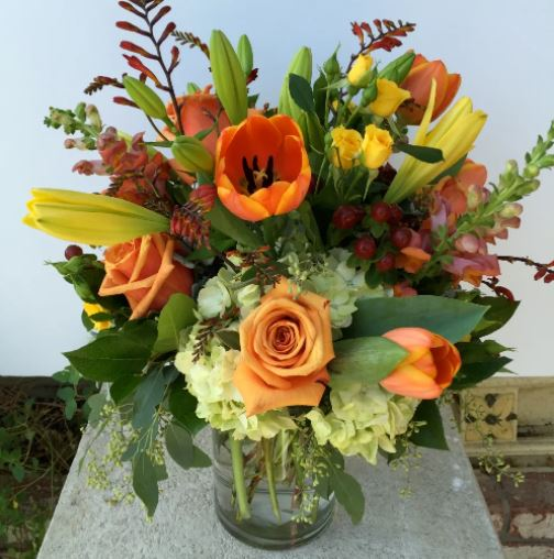 City Sunset - www.bloomfloralshop.com
