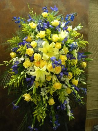 funeral flowers delivery chicago sympathy arrangement 60634