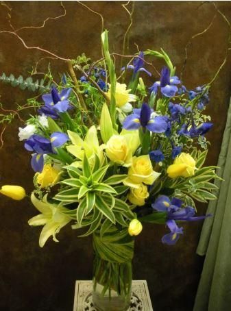 Eternal Sunshine Funeral Basket - www.bloomfloralshop.com