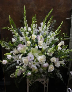 Pure Serenity Funeral Basket