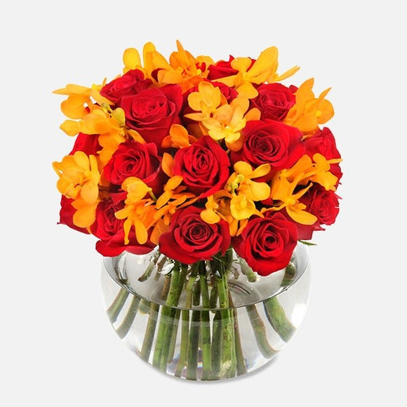 long stem red roses bouquet orchid bouquet flower delivery to chicago 60634 online flower delivery chicago same day flowers