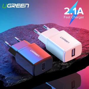 Carregador Turbo 5V 2.1A USB - Ugreen