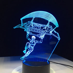 Dropping In - Fortnite Gaming BB Hologram Decoration