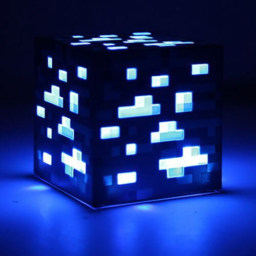 Lapis Ore - Minecraft Premium Light-Up Decoration Ore