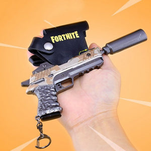 Suppressed Pistol - Fortnite Battle Royale Collectable