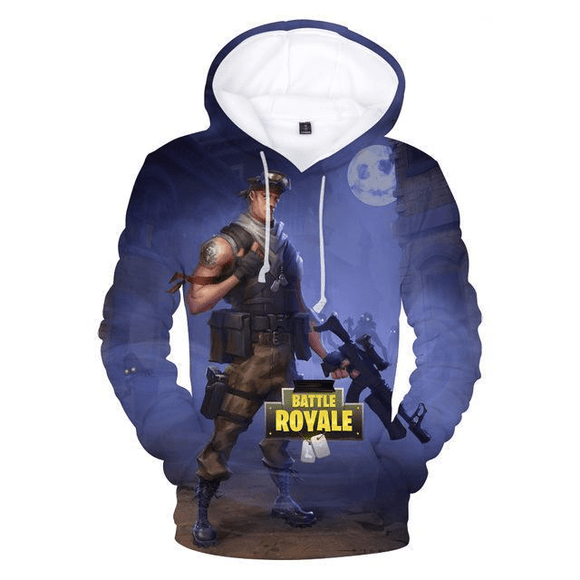 No Zombies - Premium Battle Royale Hoodie