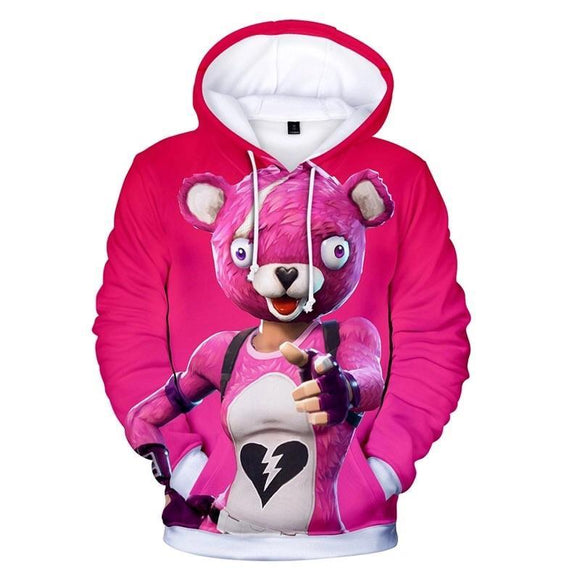 Cuddle Team Leader - Premium Fortnite Hoodie