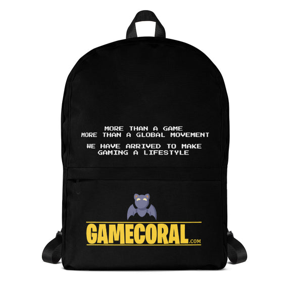 Official GameCoral Backpack