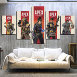 S1 Champion Apex Banner - Apex Legends Canvas Gamer Wall Poster