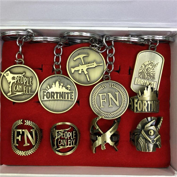 Fortnite Medals Collection Tokens Set