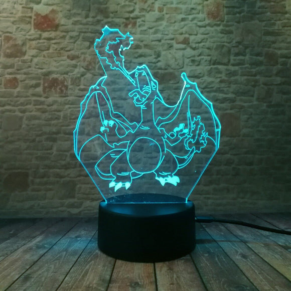Charizard - Pokemon Gaming Hologram