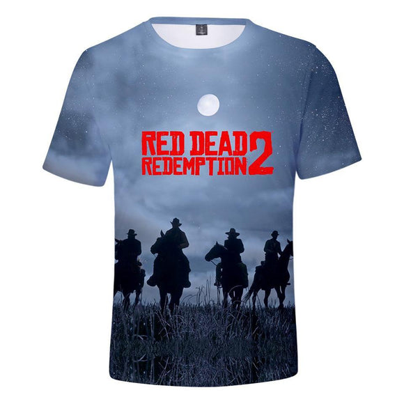 Nightfall - Red Dead Redemption 2 Cotton T-Shirt