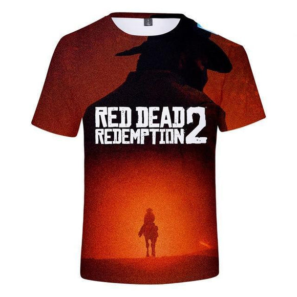 Glory - Red Dead Redemption 2 Cotton T-Shirt