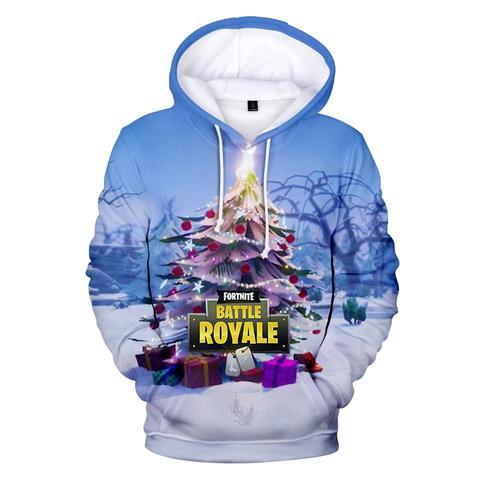 Christmas Tree - Premium Fortnite Christmas Hoodie