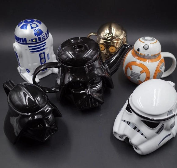 Enjoy a nice cup of coffee like a true Jedi with GameCoral's Exclusive Star Wars Coffe Mug Kit!