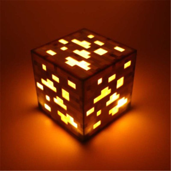 Gold Ore - Minecraft Premium Light-Up Decoration Ore