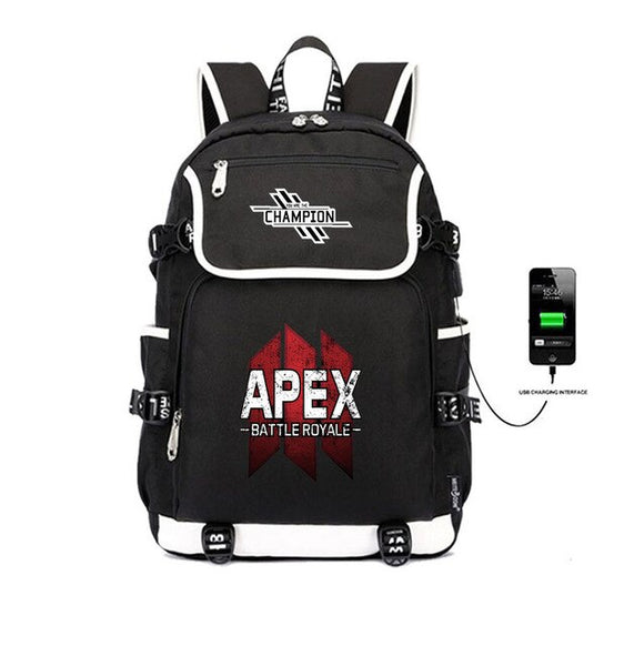 Apex Leader - Premium Apex Legends School Backpack w/ Charger Plug