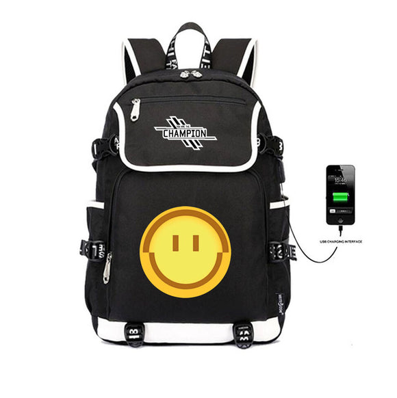 Happy Pathfinder - Premium Apex Legends School Backpack w/ Charger Plug