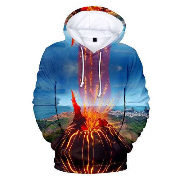 The Eruption - Premium Fortnite Season 9 Hoodie