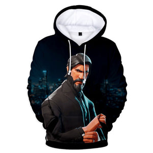 Wick Is Ready - Premium Fortnite Hoodie