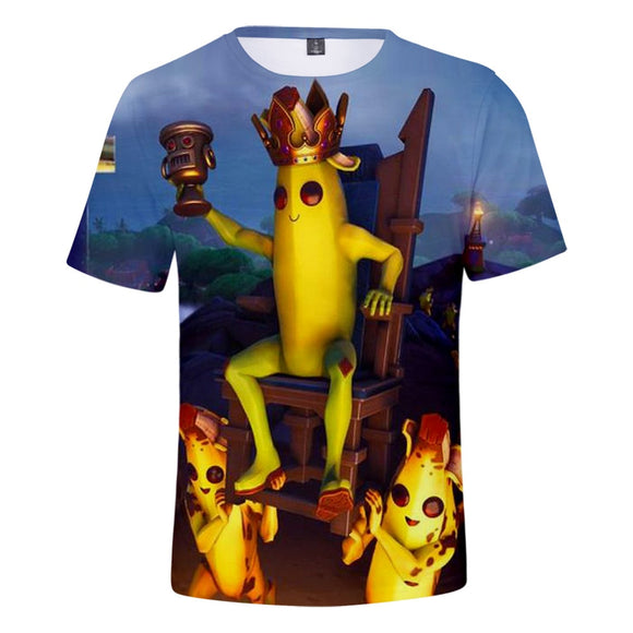 Peely The King - Premium Fortnite Gaming T-Shirt