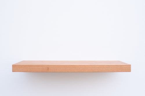 Solid Alder Floating Shelf - Custom Sizes - 11-12