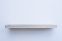 "Load image into Gallery viewer, Solid Blue Pine Floating Shelf - Custom Sizes - 8-10"" Deep - Add Desired Depth to Order Notes"