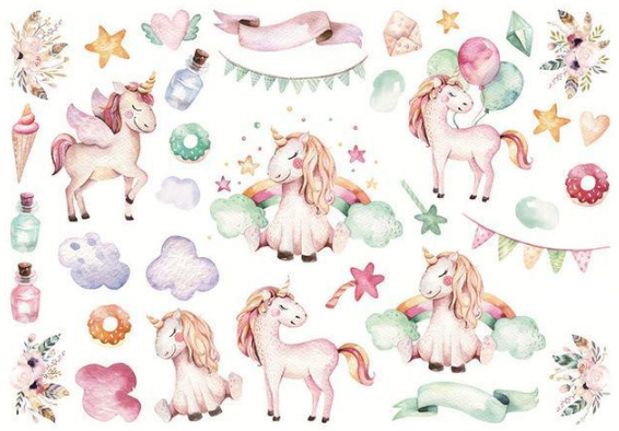 Petit Sticker Licorne