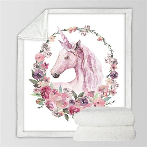 Grand Plaid Licorne