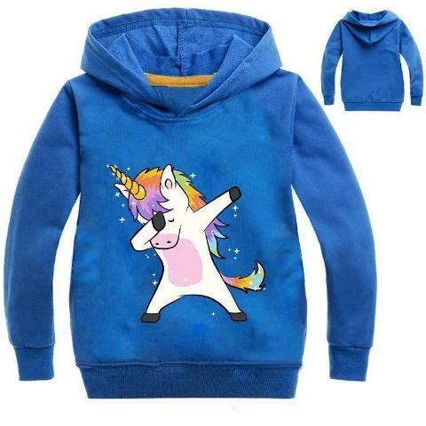 Sweat Licorne Dab Enfant