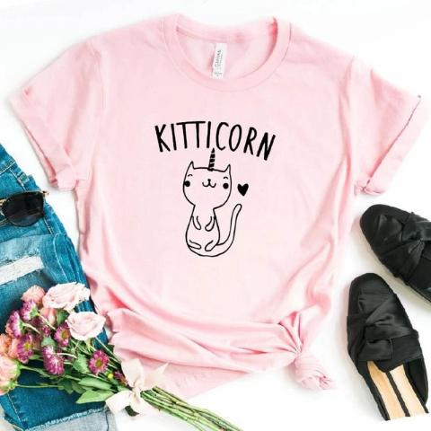 T-Shirt Licorne Kitticorn