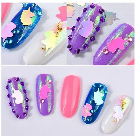 stickers Ongle Licorne
