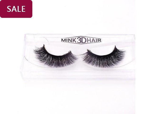 1Pair Luxury 3D Mink Fur False Eyelashes Extensions - Variousales