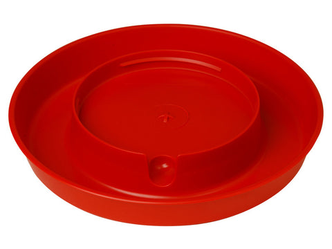 1 Gallon Plastic Screw-On Poultry Waterer Base
