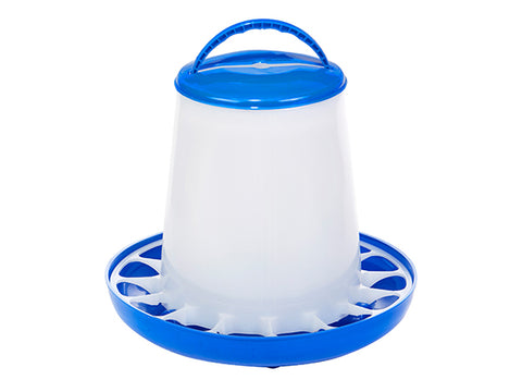 Double-Tuf 5 Lb Plastic Poultry Feeder