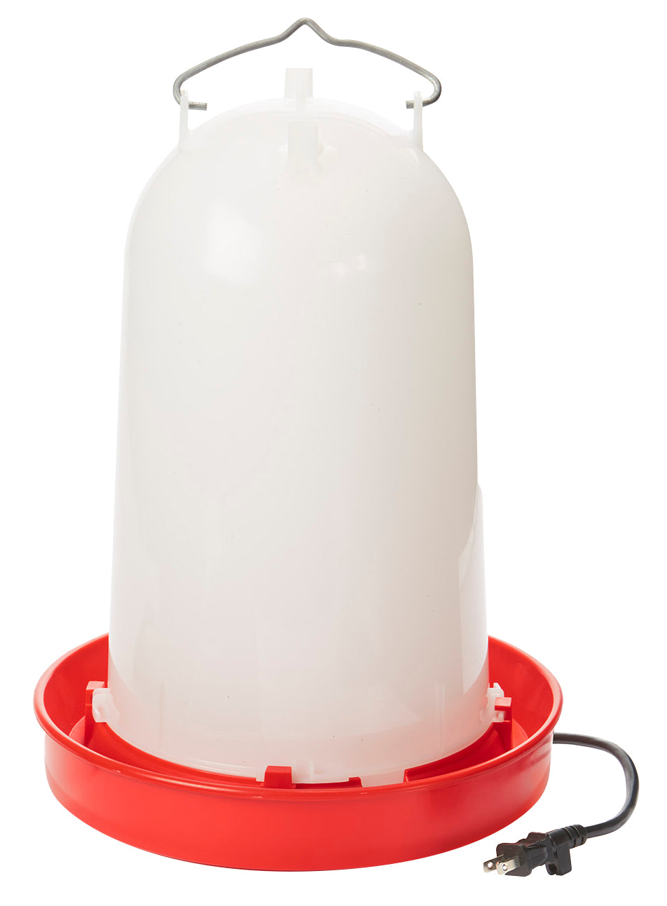 3 Gallon Heated Poultry Waterer