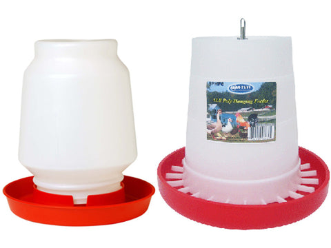 Chicken Feeder and Waterer Combo