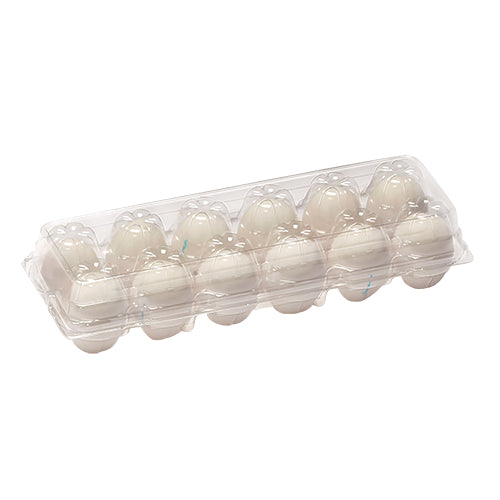 Clear Tri Fold Chicken Egg Cartons