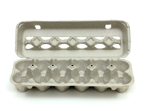 Pulp Chicken Egg Cartons - Free Shipping