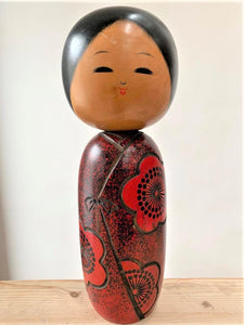 Traditional Wooden Japanese Kokeshi Doll (2 of 15) - Retro & Vintage Furniture and Homewares